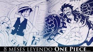 8 MESES LEYENDO ONE PIECE : LEGADO. (Parte 8 - Final)
