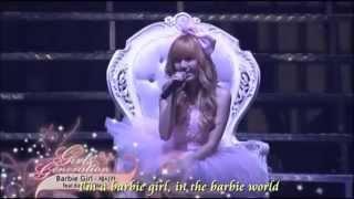 Barbie Girl   Jessica (SNSD) ft  Key [Lyric]