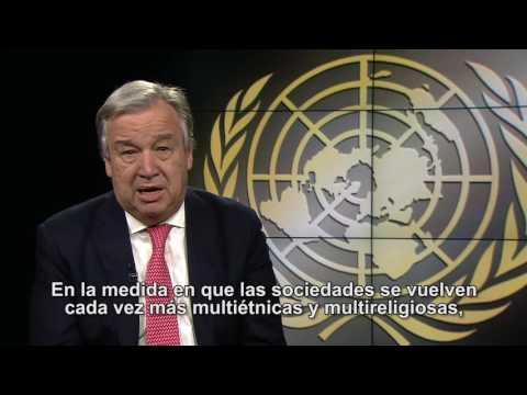 watch Guterres: JUNTOS contra la intolerancia, la discriminación y el odio hacia los musulmanes