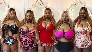 BIG GIRL BIKINI'S PLUS MORE! SWIMSUIT TRY ON!!!