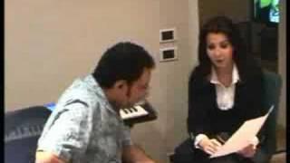Nancy Ajram & Tarek Madkour - The Rehearsal Of Ah We Noss