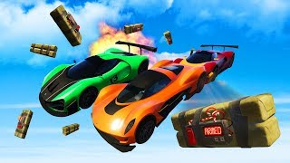 THE MOST EXPLOSIVE RACE EVER! (GTA 5 Funny Moments)