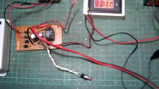 Simple  auto cut off   12V battery charger