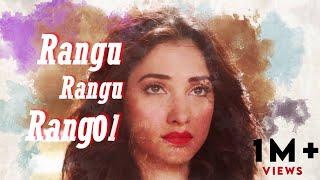 Rang Rang Rangoli | Lyric Video | Prabhudeva, Tamannaah, Amy Jackson | Vishal Mishra | Vijay