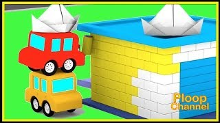 PAINTING CARS! - Cartoon Cars Videos for Kids. Cartoons for Children - Kids Cars Cartoons