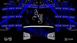 WWE AJ Styles 2017 Entrance Video Stage