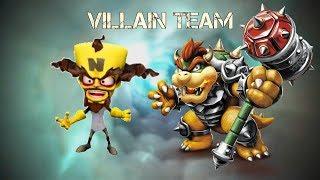 Hammer Slam Bowser and Dr. Neo Cortex: Villain Team