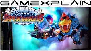 Skylanders SuperChargers: Hammer Slam Bowser Gameplay (SDCC - Wii U)