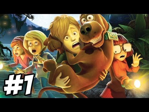 Scooby Doo and the Spooky Swamp Walkthrough Episode 1 Part 1 PS2 Wii