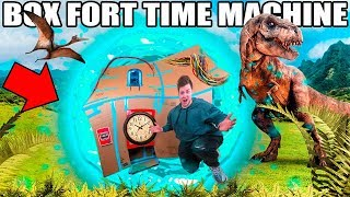 BOX FORT TIME MACHINE!! 📦⏰  Time Traveler