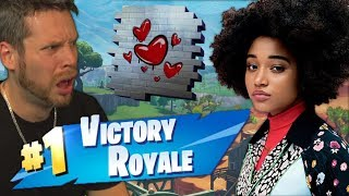 I GOT CARRIED ON FORTNITE BY A GIRL!