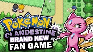 AWESOME NEW FANGAME! Pokémon Clandestine - Pokemon Fan Game - GAMEPLAY and Download