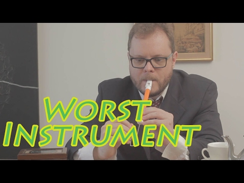 Worst Musical Instrument Ever The Slide Whistle