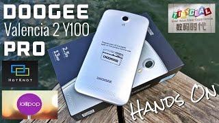 Doogee Valencia 2 Y100 Pro - $117 - [Hands - On] - MTK6735 - Lollipop 5.1 - HotKnot - 5.0