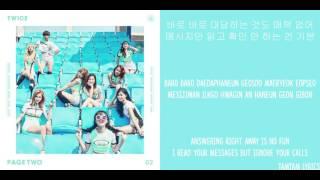 Cheer Up - Twice Lyrics [Han,Rom,Eng]