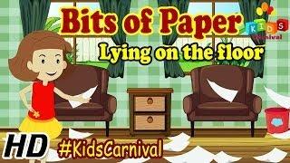 Bits of Paper - Nursery Rhymes   Play School Songs   Easy To Learn