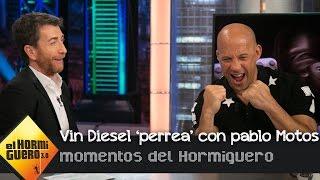 Vin Diesel 'perrea' con Pablo Motos una de las canciones de Nicky Jam  - El Hormiguero 3.0