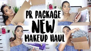 PR Package Unboxing   NEW Makeup Haul