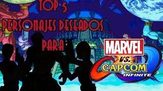 TOP 5: PERSONAJES DESEADOS PARA MARVEL VS CAPCOM INFINITE (LADO DE CAPCOM)