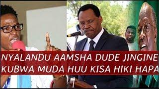 Taarifa kubwa nzito Iliyotufikia hivi punde, NYALANDU Aamsha Dude ile Mbaya kisa hiki hapa