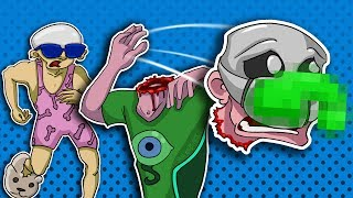 Ben and Ed: Blood Party - Co-op Zombie Obstacle Course of Death!