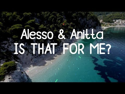 Alesso & Anitta - Is That For Me (Lyric Video)