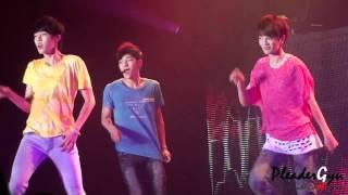[KyuHK] 110817 Bangkok City - Maknae Line (SungYeol L SungJong) @Fanclub Ceremony HD