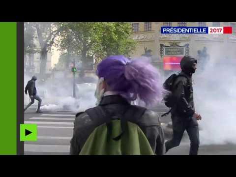 «Ni Le Pen, ni Macron» : la manifestation lycéenne dégénère à Paris