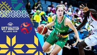 LIVE 🔴- Angola v Australia - FIBA U17 Women's Basketball World Cup 2018