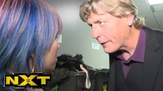 William Regal informs Asuka of her NXT TakeOver: Chicago title defense: NXT Exclusive, May 3, 2017