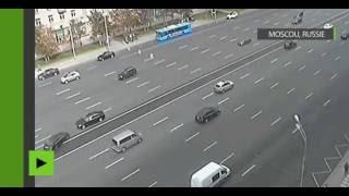 VIDEO CHOC : accident mortel sur une autoroute russe