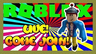 🔴 ROBLOX 🔴 (live stream) | Epic Minigames, Icebreaker and other Games and Servers | Let