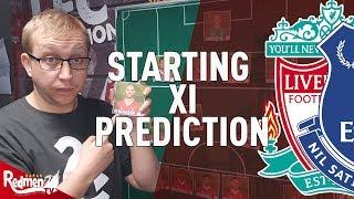 Liverpool v Everton | Starting XI Prediction LIVE