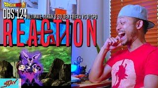 Dragon Ball Super Episode 124 Reaction Ultimate Gohan vs Golden Frieza