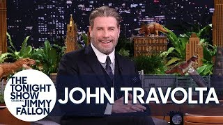 John Travolta Returns to the Brooklyn Pizzeria He Made Famous in Saturday Night Fever