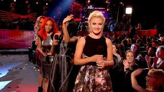 Emily Osment presents Austin Mahone Radio Disney Music Awards 2014