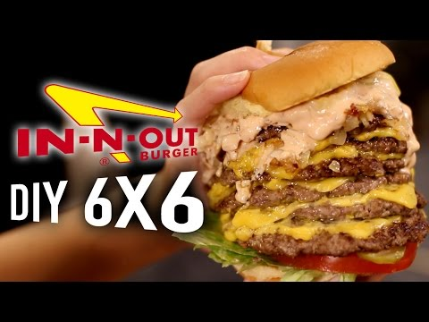 DIY In N Out 6x6 Animal Style