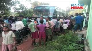 Six Die In Dhenkanal's Bhuban After Bus Comes In Contact With Sagging Electricity