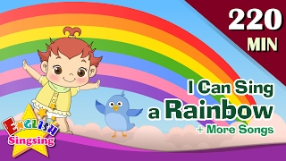 I Can Sing a Rainbow + More Nursery Rhymes | 50 Kids songs with lyrics | English animation