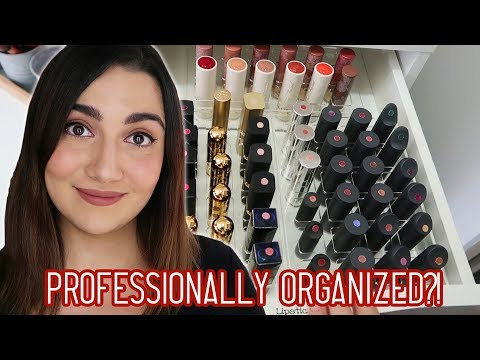 I Got My Makeup Collection Professionally Organized