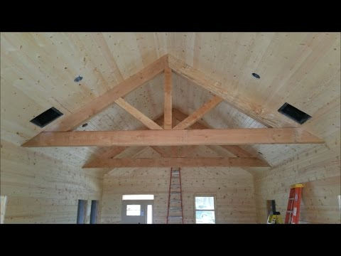 Dream Country Home Build Update-Knotty Pine DONE, house fully painted!