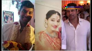 Actor Vikram's Daughter Engagement with DMK Leader M. Karunanidhi's Grandson