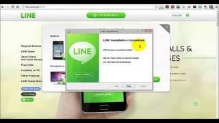 Cara pasang aplikasi Line untuk LAPTOP/PC