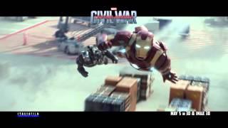 CAPTAIN AMERICA: CIVIL WAR - In Cinemas May 5 in 3D & IMAX 3D