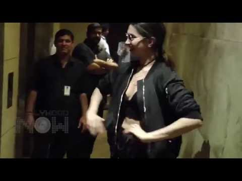 Xxx Mp4 Deepika Padukone Looked HOT In This Black Number At The XXx Trailer Screening 3gp Sex