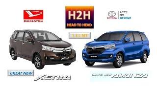 Head2Head #49 Great New Daihatsu Xenia vs Grand New Toyota Avanza