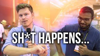 Sometimes Sh!t Happens... Computex 2017 Outtakes