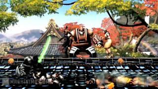 Street Fighter X Tekken SDCC 2011 Characters Gameplay Trailer