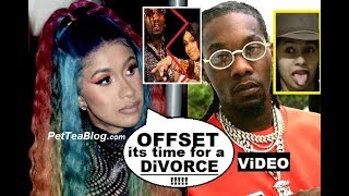 Cardi B Ready to Divorce OFFSET her Baby Daddy 💔👊 Changed Motorsport Lyrics On Stage! Video
