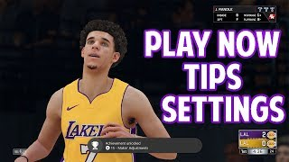 NBA 2K18 Play Now Online Defensive Settings, Scoring Methods, How to Win Tips! Official 2K Plug!